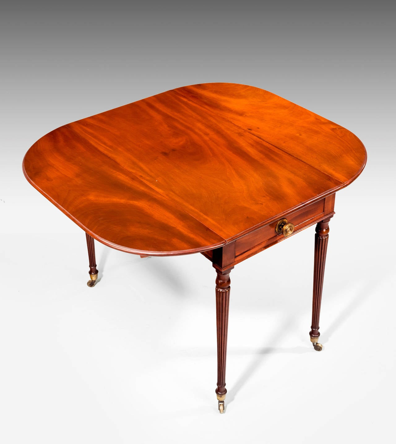 Regency Period Mahogany Pembroke Table For Sale At 1stdibs