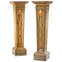 Pair of George Ill Period Columns