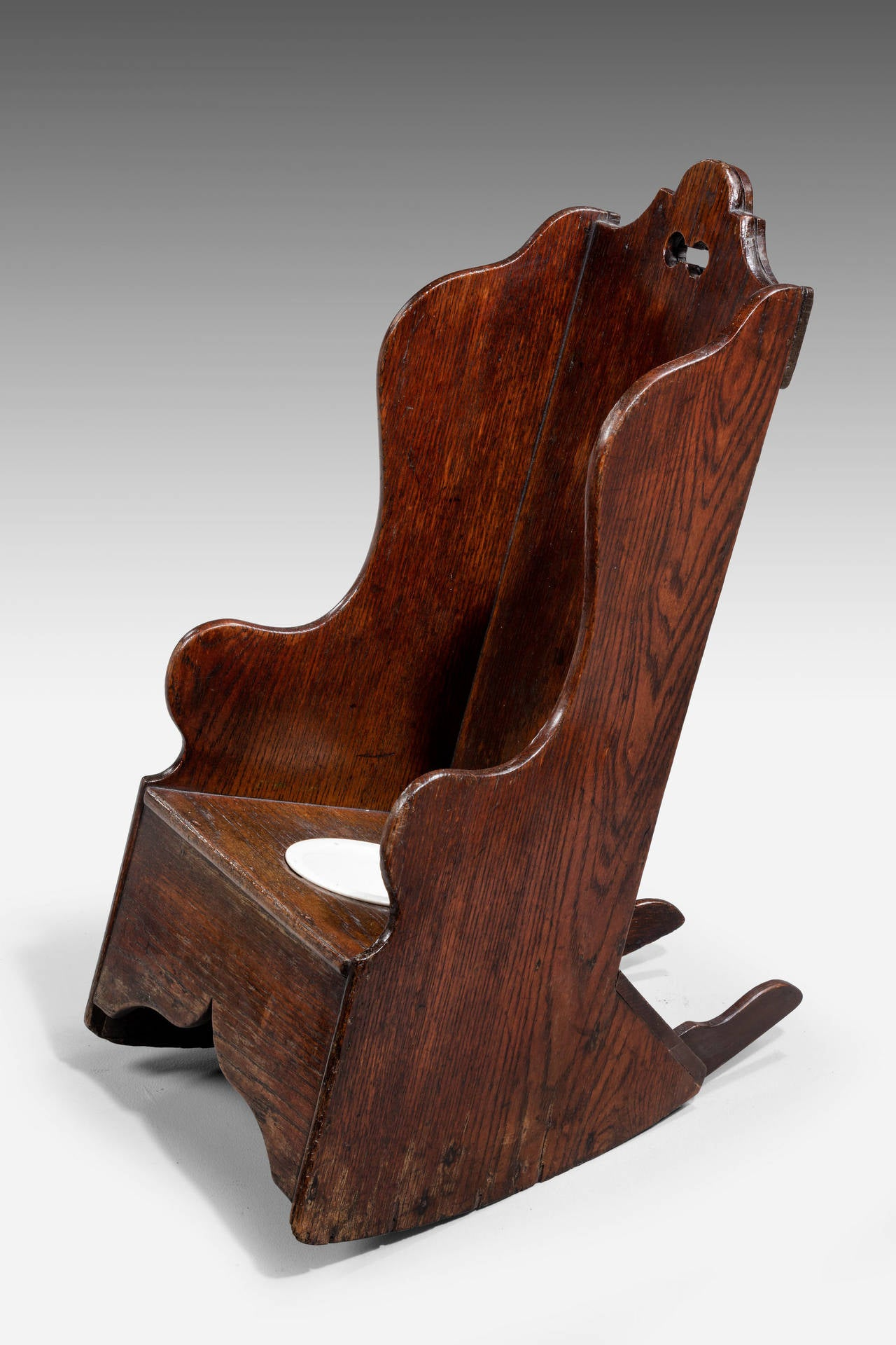 Early 19th Century Childs Rocking Chair For Sale At 1stdibs