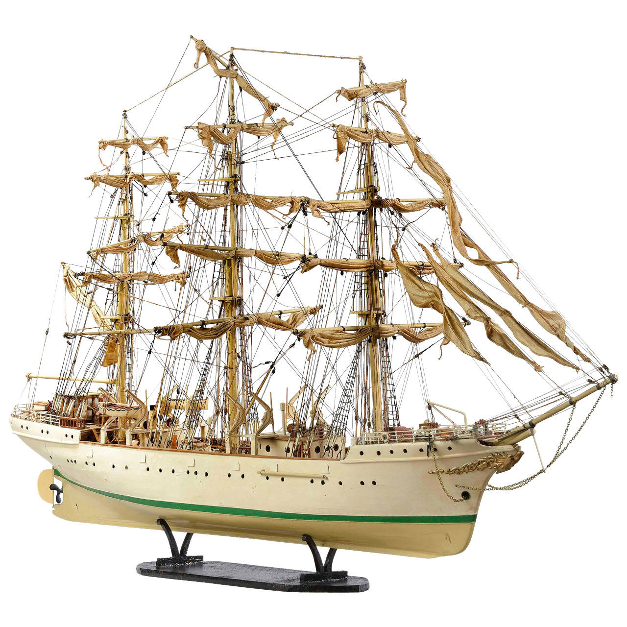 Mid-20th Century Ship Model