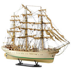 Mid-20th Century Ship Model