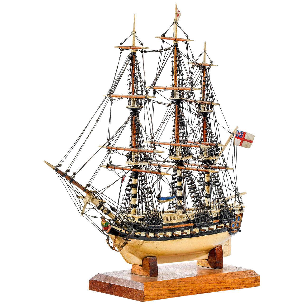 Fine Mid-20th Century Ship Model For Sale