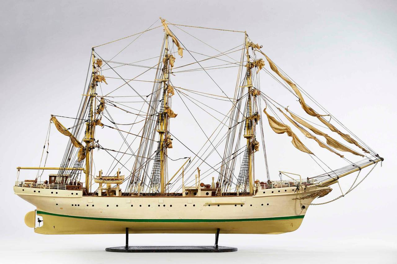 British Mid-20th Century Ship Model For Sale
