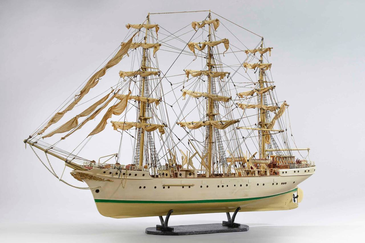 Mid-20th Century Ship Model For Sale 1