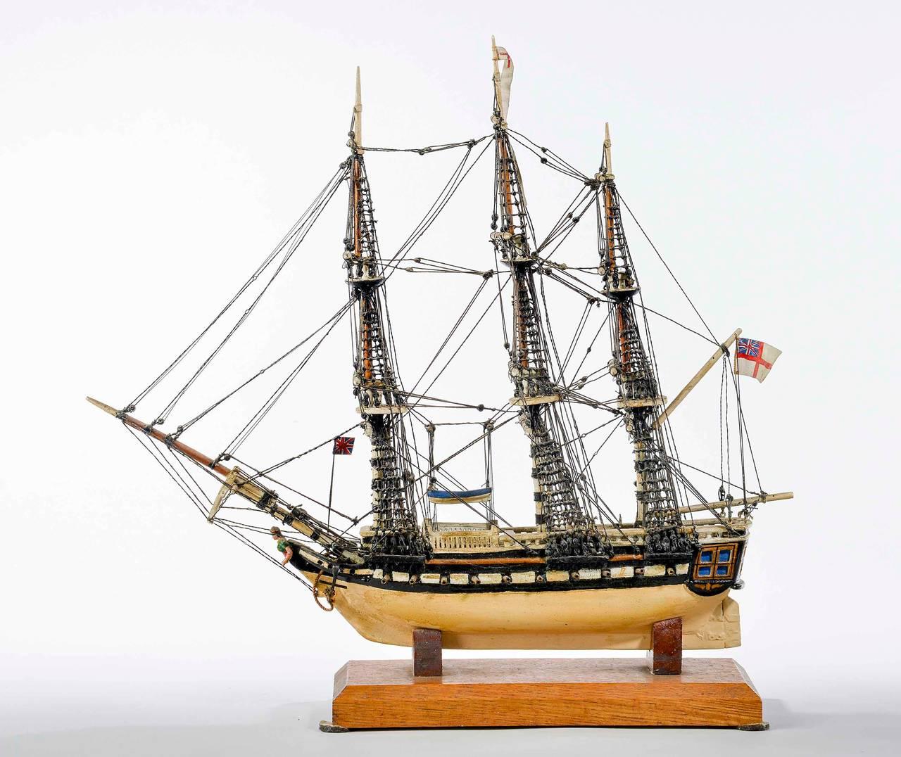 British Fine Mid-20th Century Ship Model For Sale