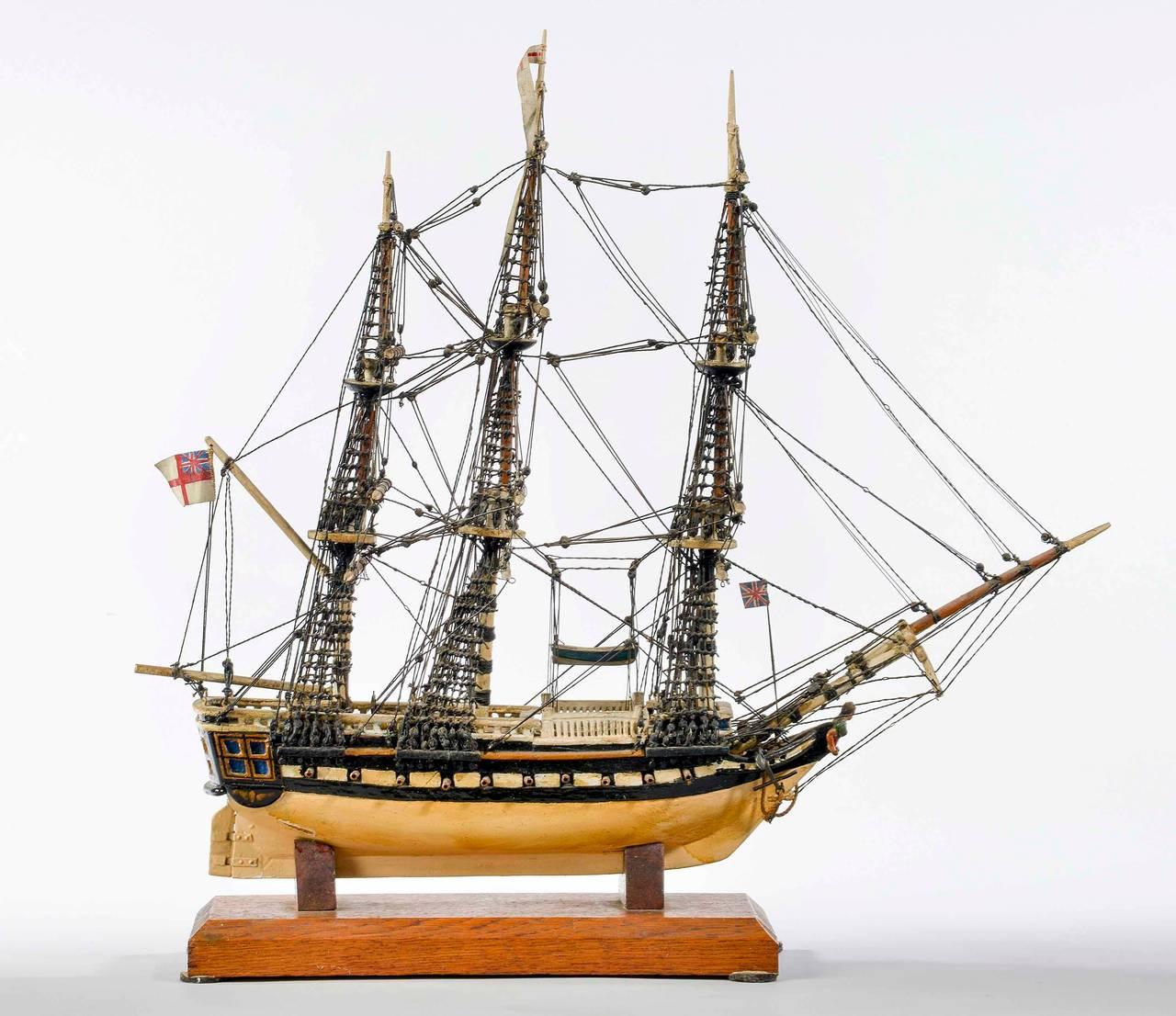 Fine Mid-20th Century Ship Model For Sale 1
