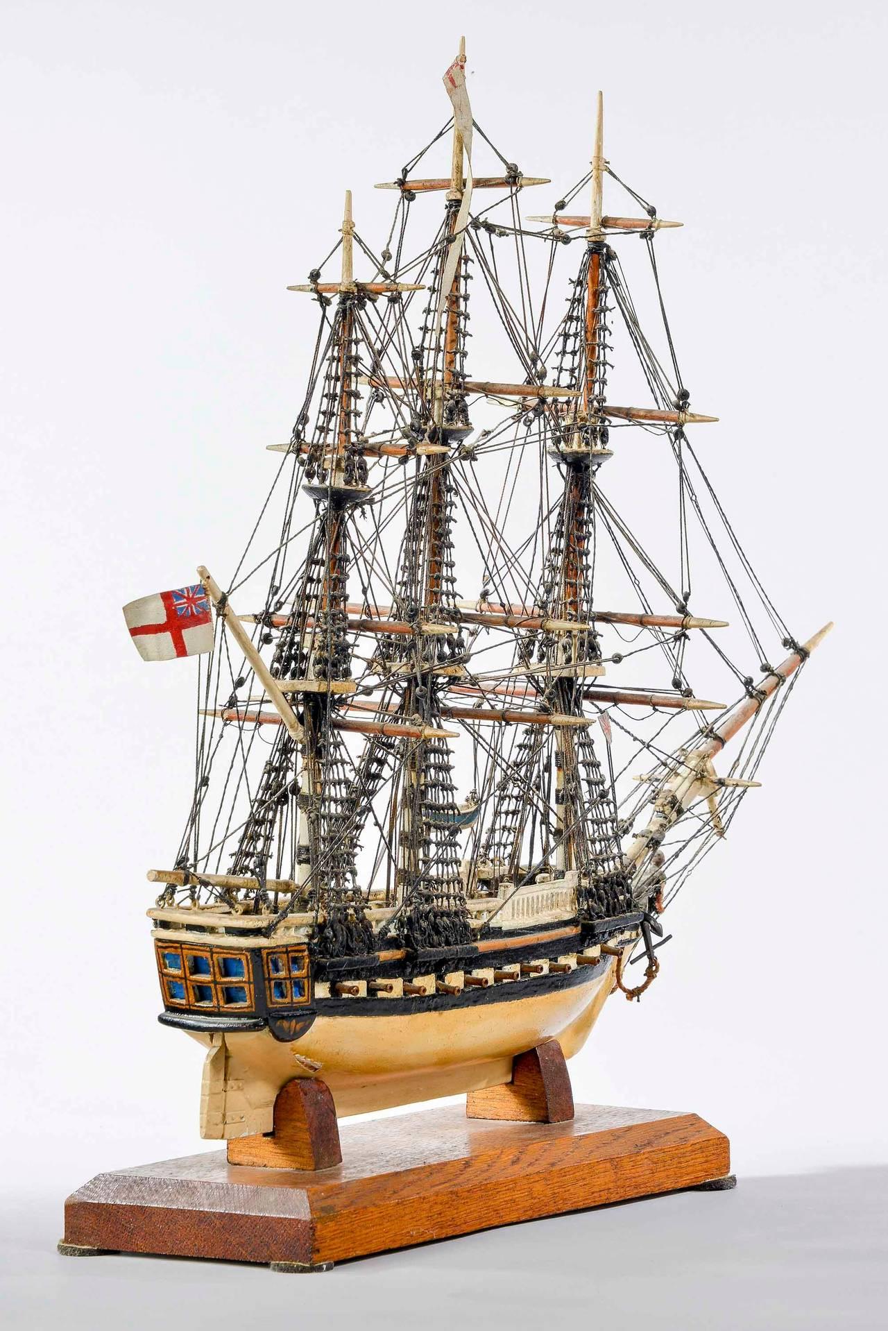 Fine Mid-20th Century Ship Model For Sale 2