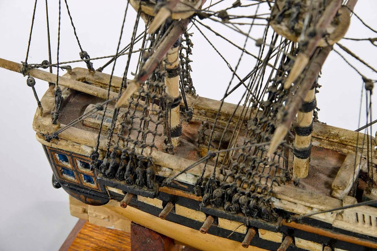 Fine Mid-20th Century Ship Model For Sale 6