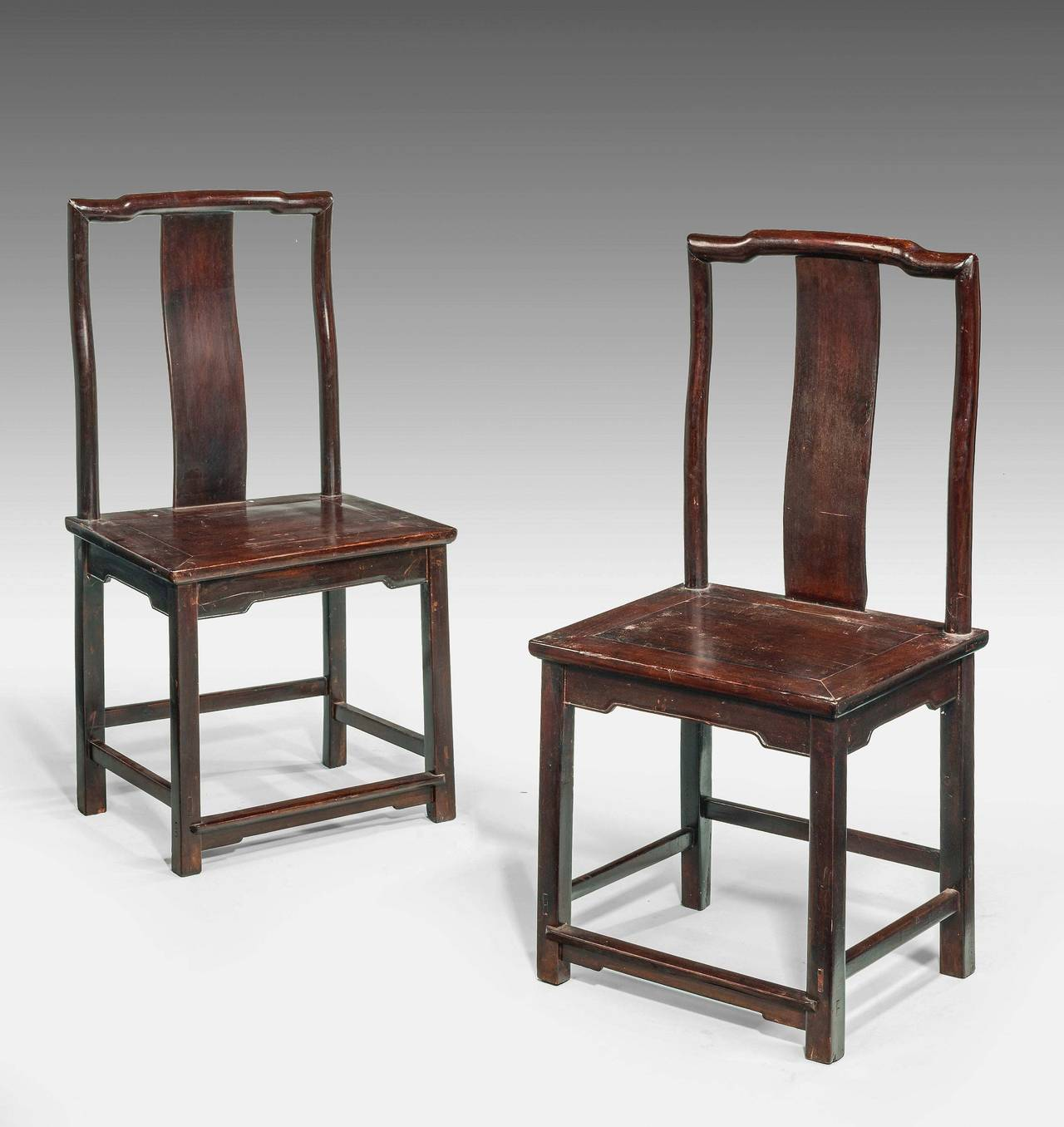 Pair of early 19th century chinese side chairs for sale at for Asian chairs for sale
