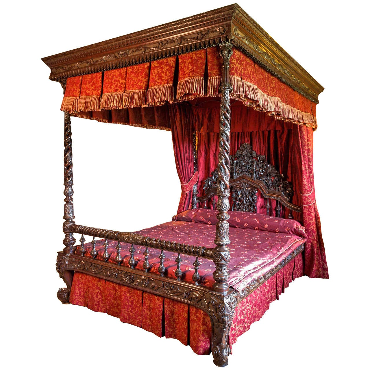 19th century anglo indian four poster bed at 1stdibs - Four poster bedroom sets for sale ...