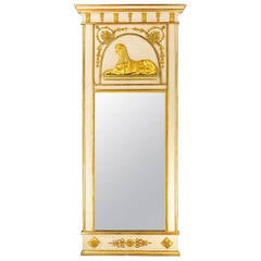 Early 19th Century North European Mirror