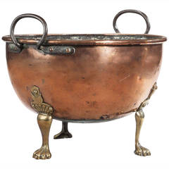 Early 19th Century Copper Container