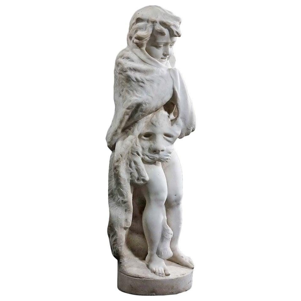 Late 18th Century Italian Marble Figure