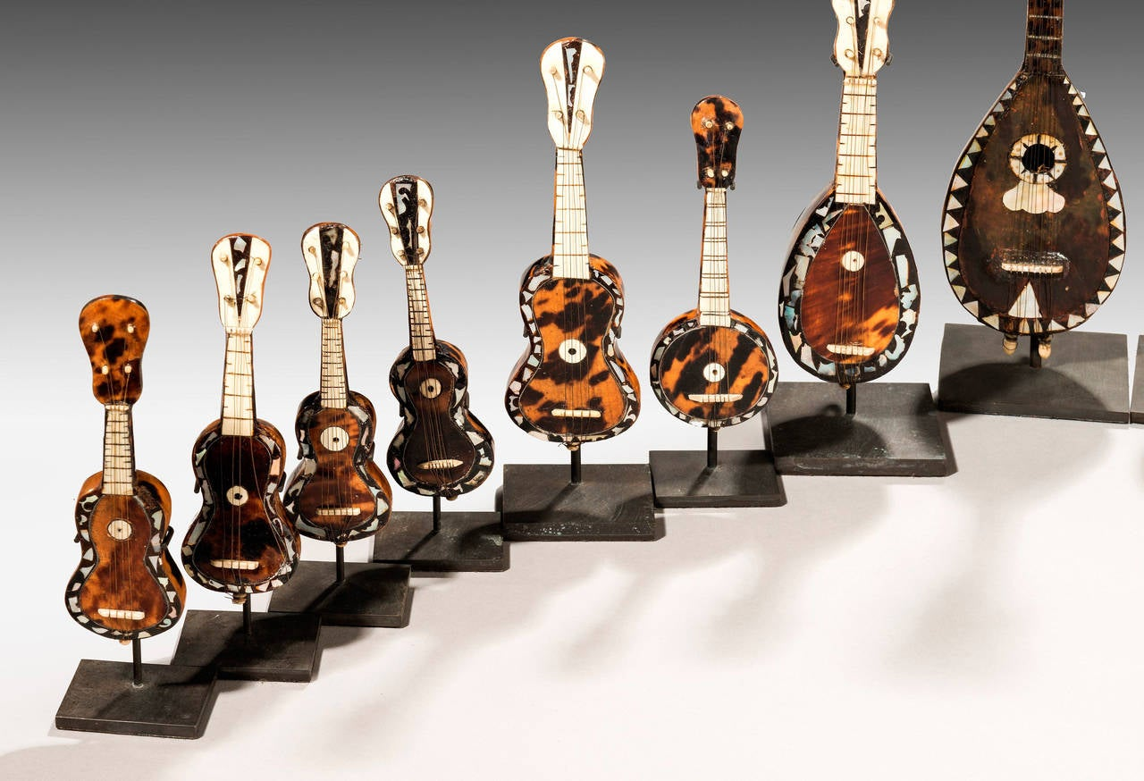 European Collection of 19th Century Miniature Instruments For Sale