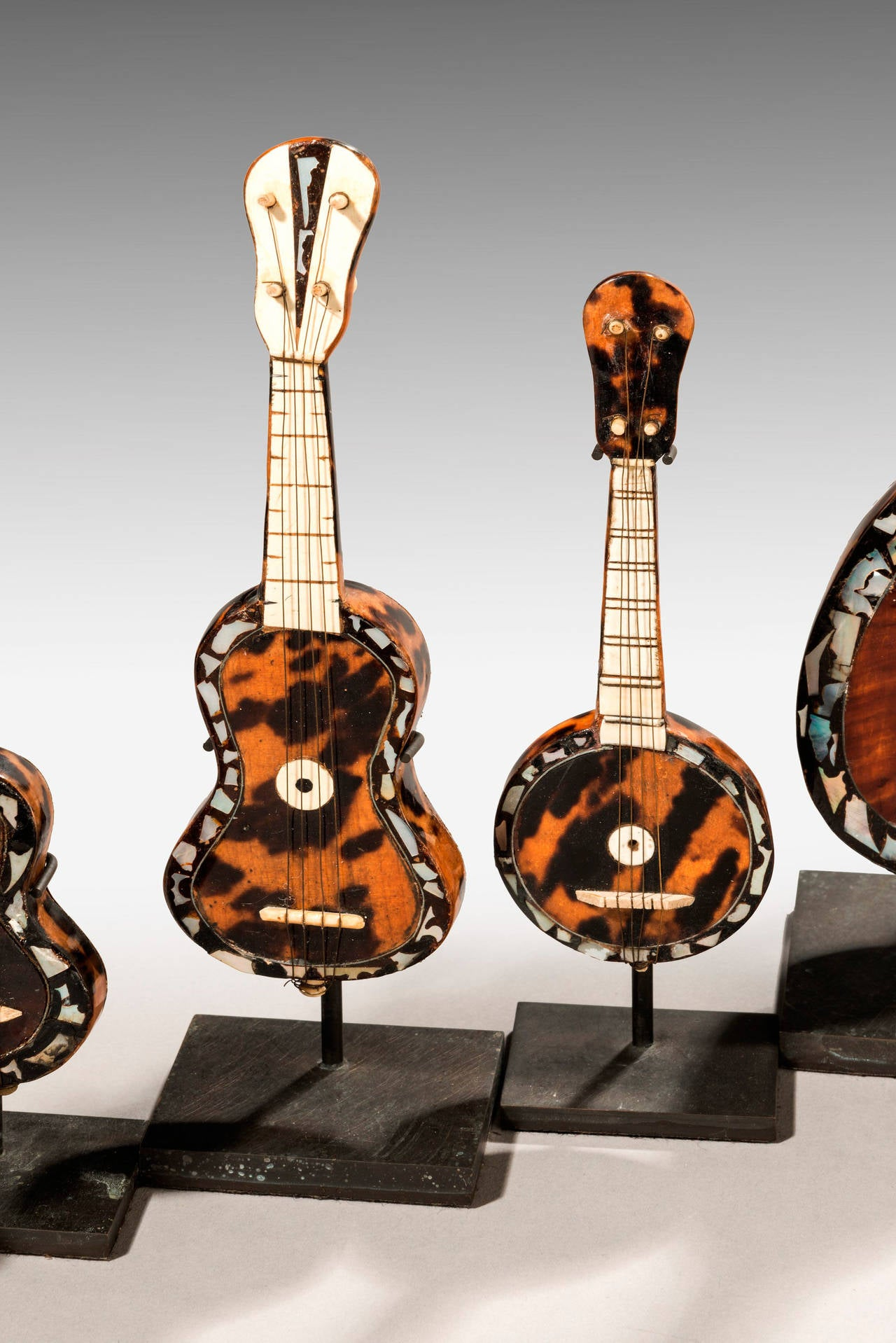 Collection of 19th Century Miniature Instruments For Sale 1