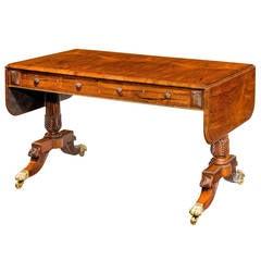 Regency Period Sofa Table, Royal