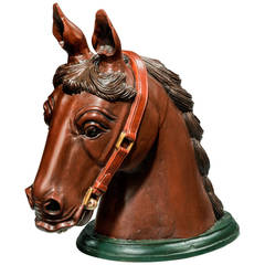 Early 20th Century Horse Head Mount