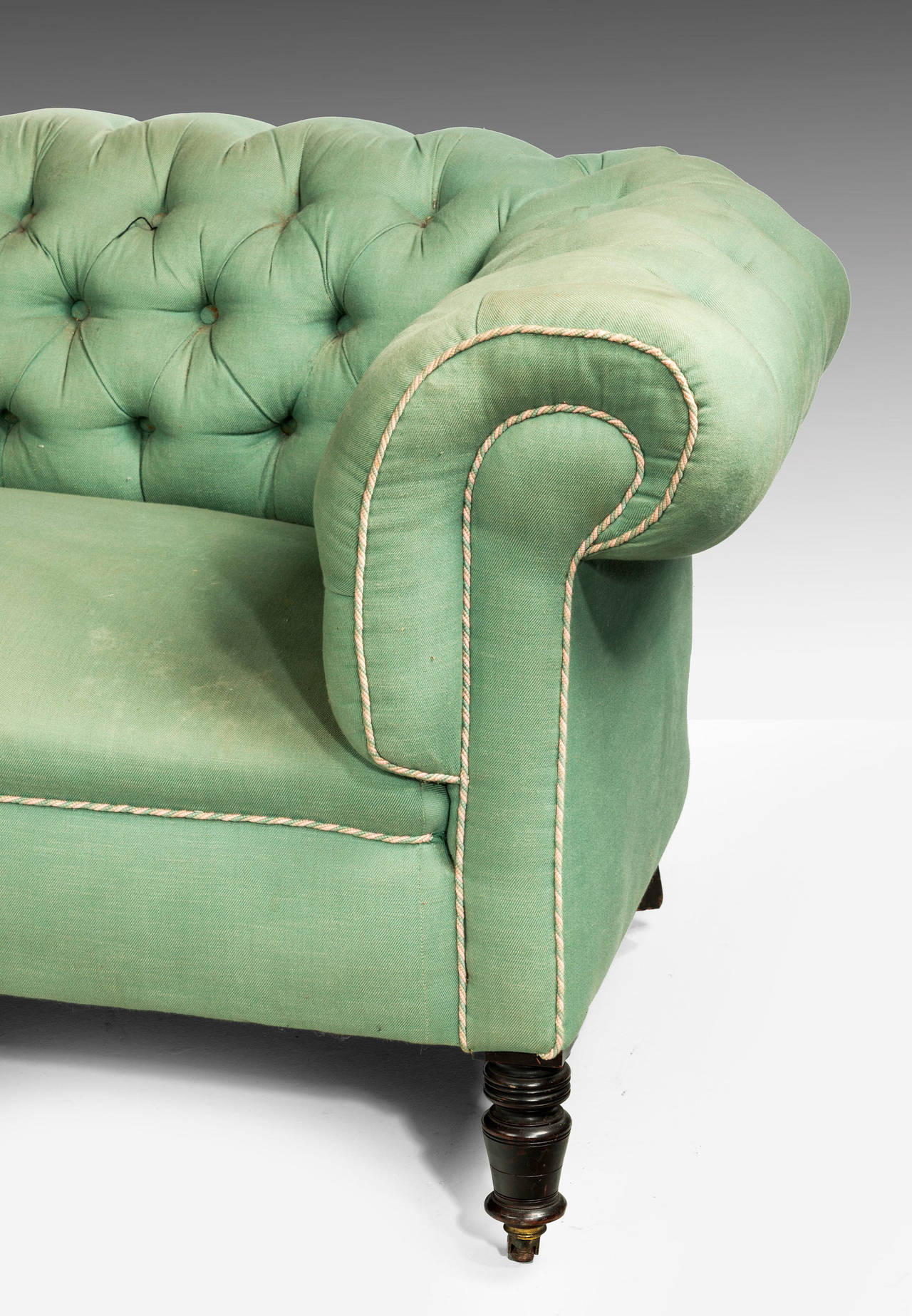Edwardian Period Chesterfield Sofa 4