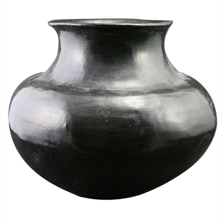 Santa Clara Pueblo Water Jar Ca 1900 At 1stdibs