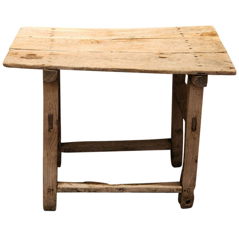Mexican Table Of Sabino Or Mesquite Wood At 1stdibs