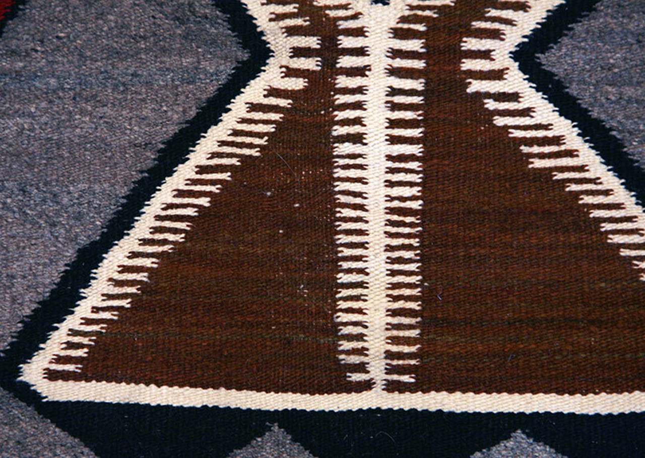The Trading Posts and the Navajo Rug