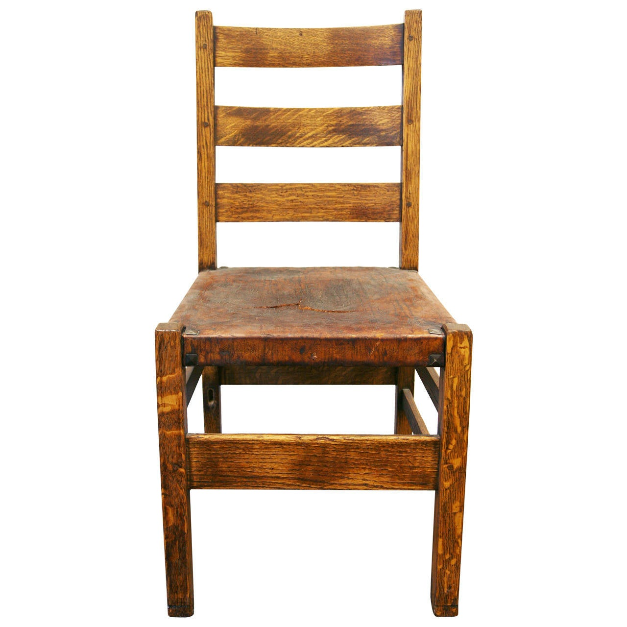 Gustav stickley chair at 1stdibs for Furniture chairs