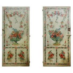 Extraordinary Couple Doors, 18th Century, George III
