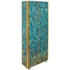 Refined Pyrite Cabinet By Kam Tin For Sale At 1stdibs