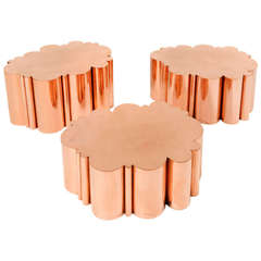 """Cloud"" Table in Copper by Kam Tin"
