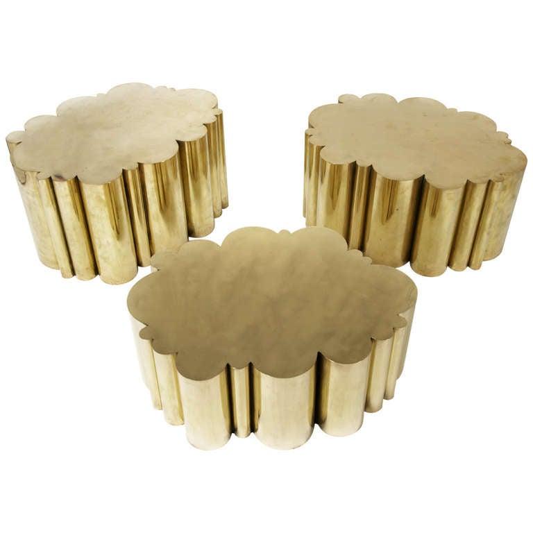 tin furniture. U0026quotCloudu0026quot Tables In Tin Furniture H