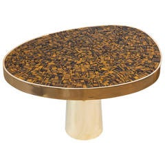Tiger's Eye Coffee Table by Kam Tin