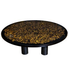 Tiger's Eye Table by Etienne Allemeersch, circa 1970