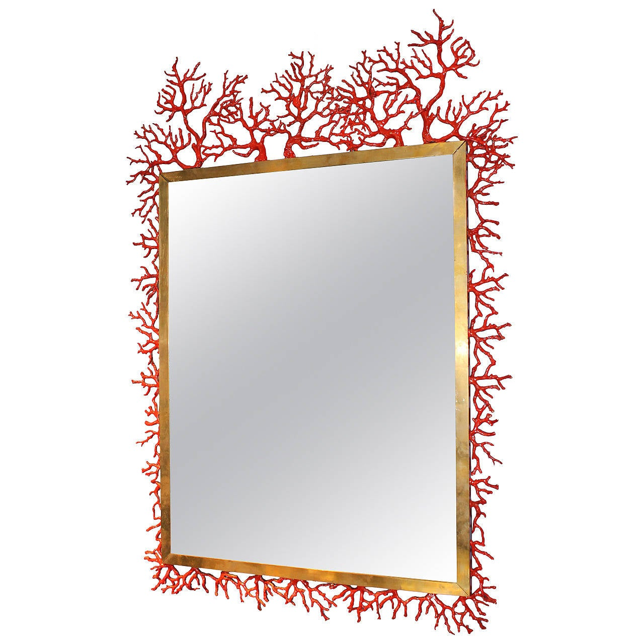 Coral Mirror By Robert Goossens At 1stdibs