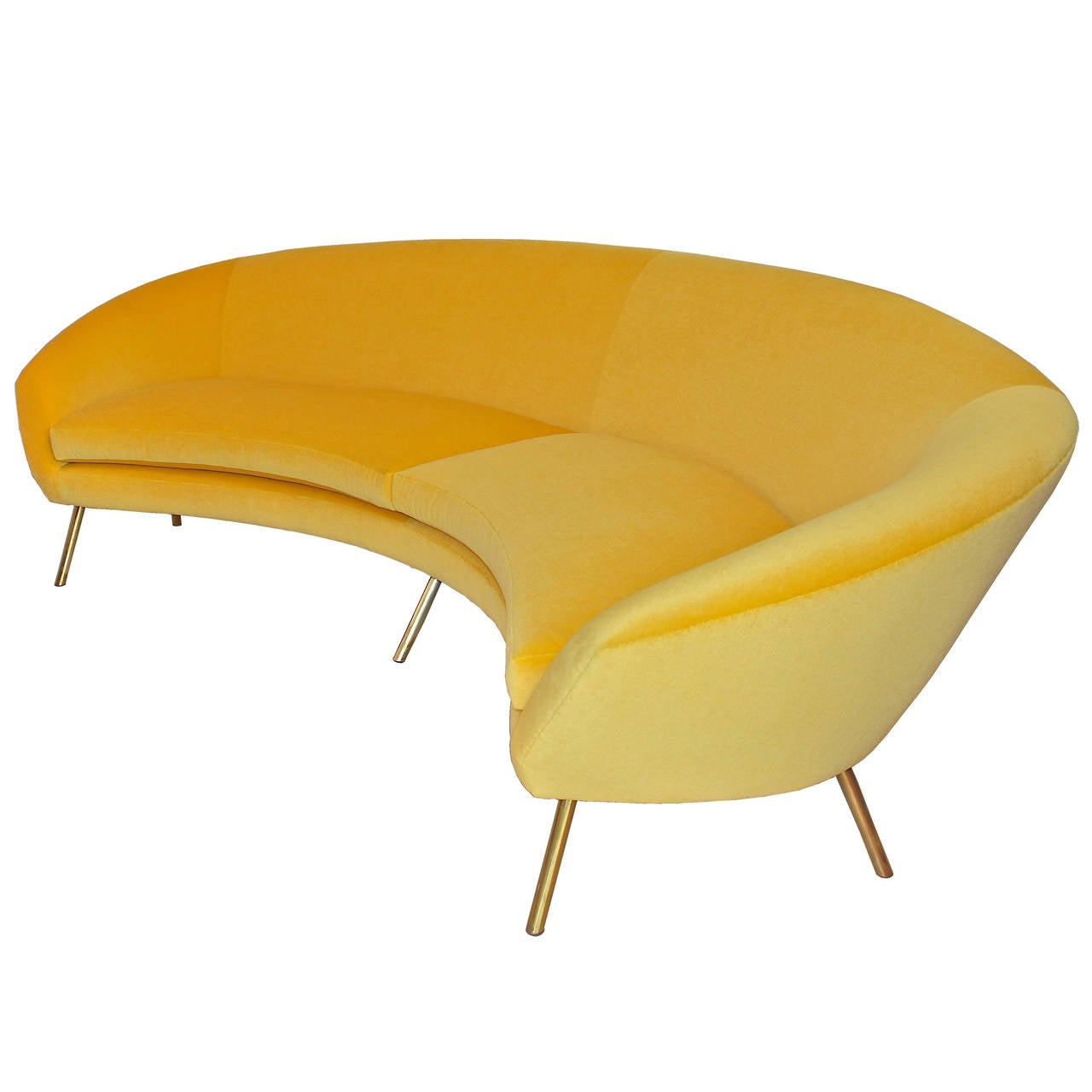 Yellow Sofa By Giuseppe Rossi For Rossi Di Albizzate At