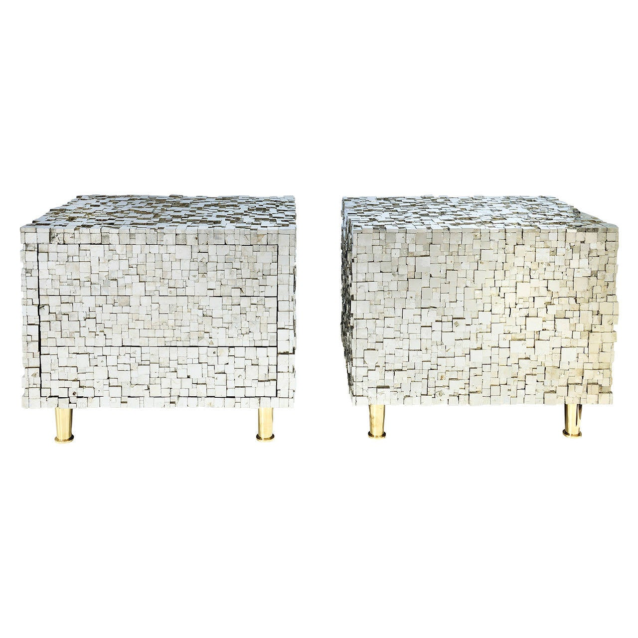 Pair of Bedside Tables by Kam Tin 1
