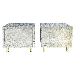 Pair of Bedside Tables by Kam Tin
