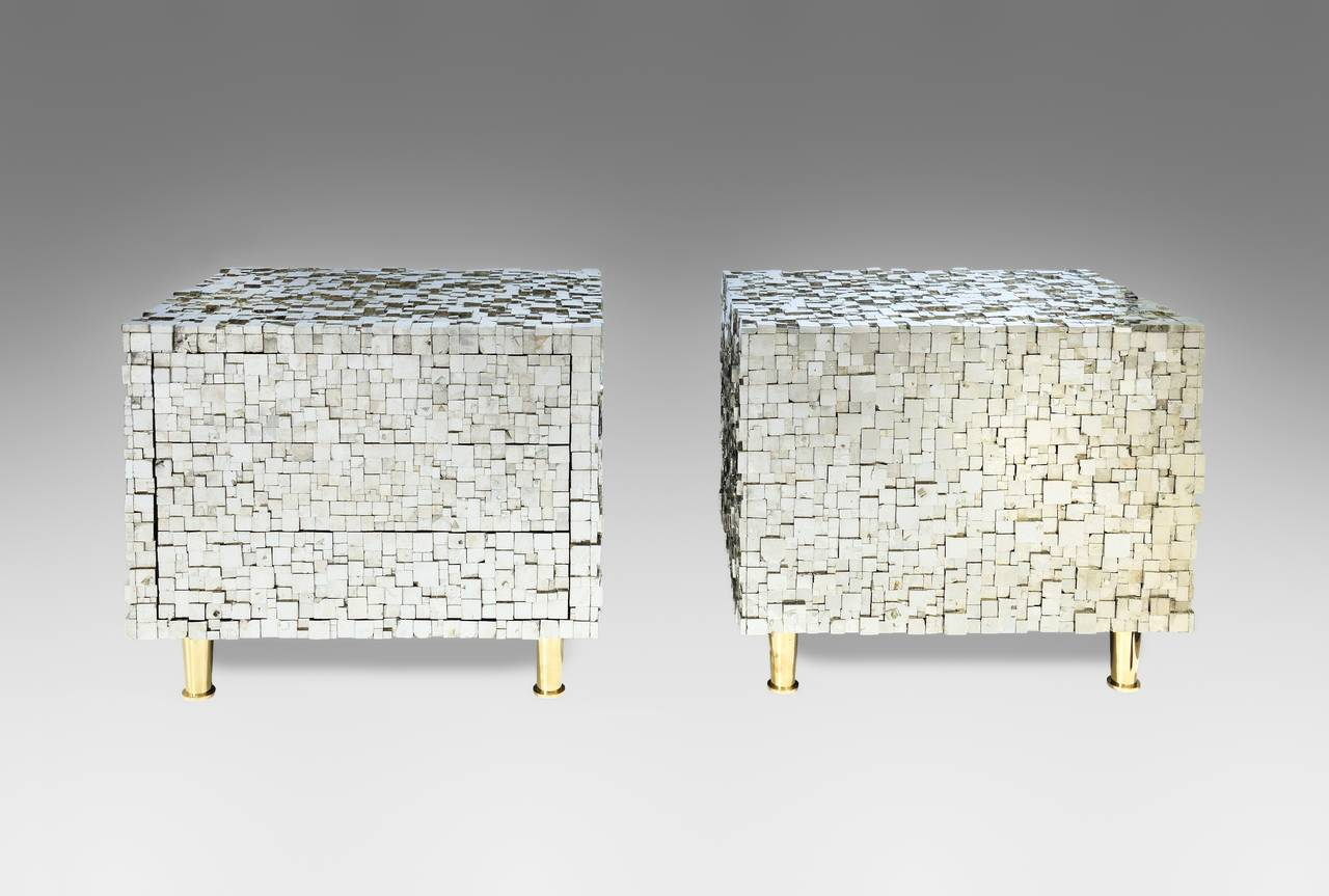 Pair of Bedside Tables by Kam Tin 2