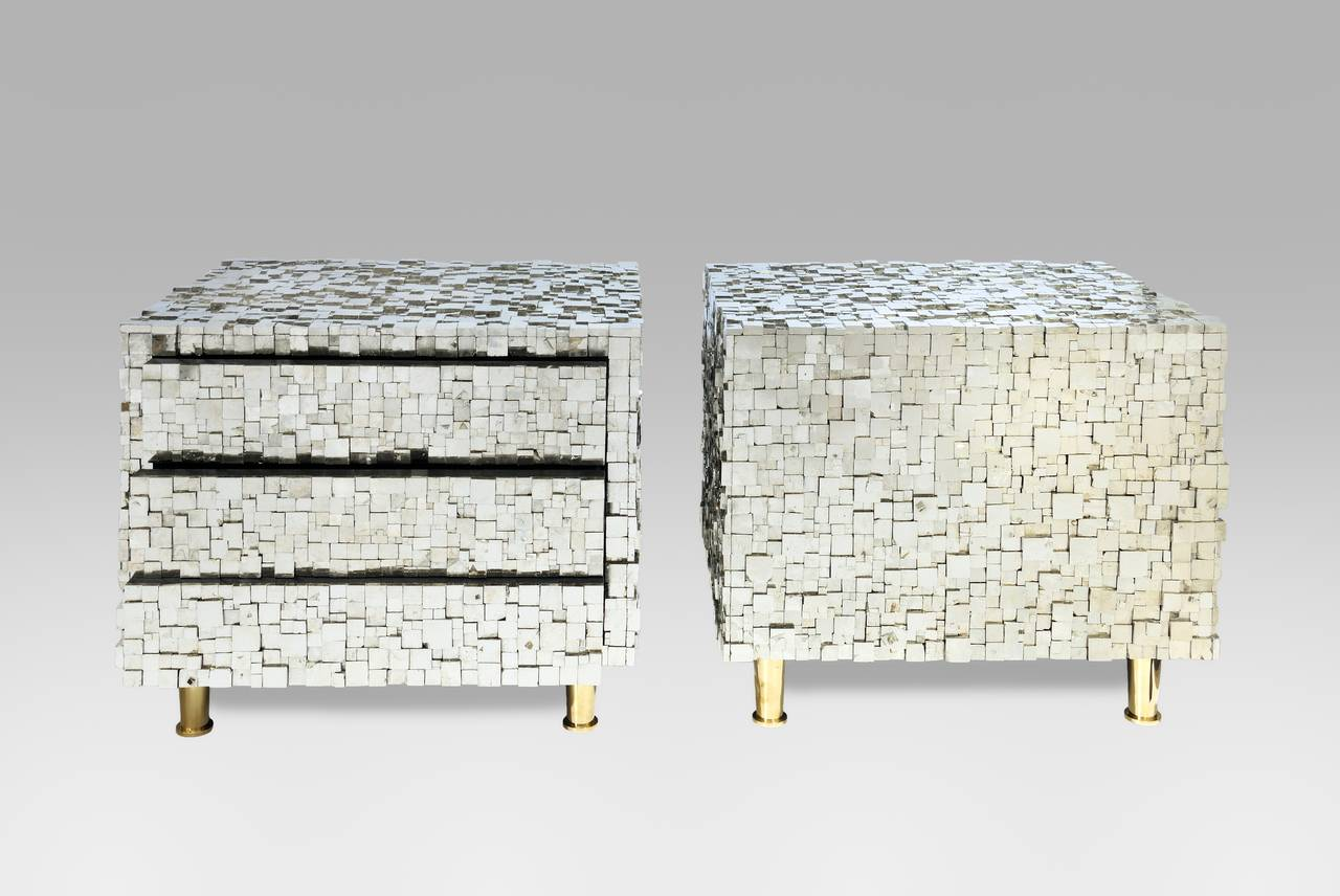 Pair of Bedside Tables by Kam Tin 3