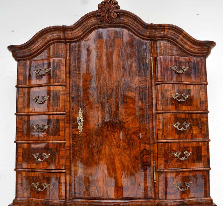 authentic baroque bureau from frankfurt about 1740 at 1stdibs. Black Bedroom Furniture Sets. Home Design Ideas