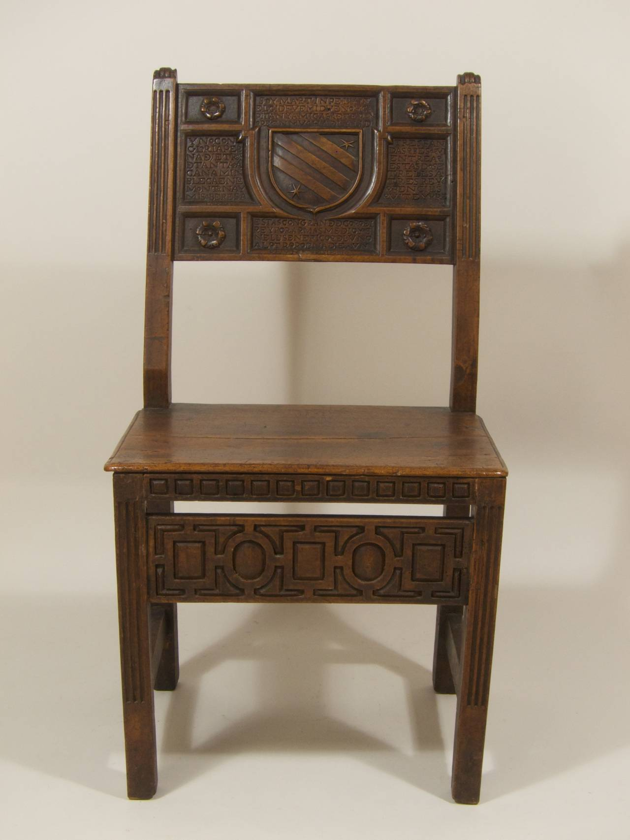 Attrayant A Renaissance Chair (silla), Spain, 16th Century, Walnut, Construction  Partially