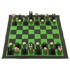 Rare Chess Set by Carl Auböck