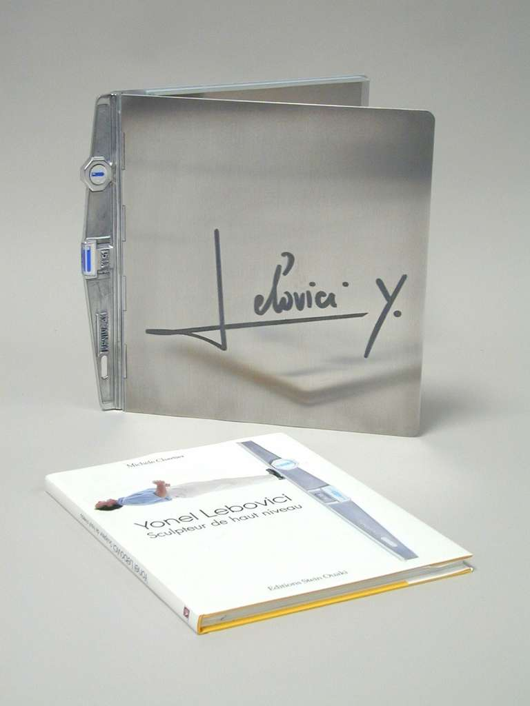 French Book Cover and Book by Yonel Lebovici For Sale