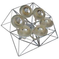 Progetto Poliedra Table or Floor Lamp by Felice Ragazzo
