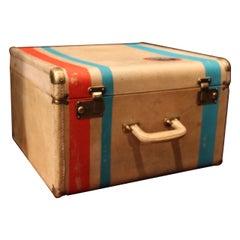 1920s Vellum Hat Box