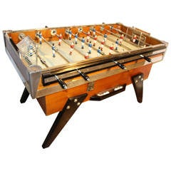 Beautiful French 1950s Cafe's Foosball Table