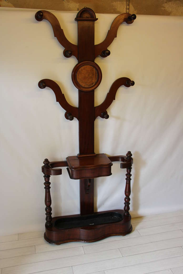 Victorian Mahogany Hall Stand For Sale At 1stdibs