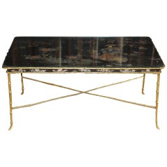 1930s Bagues Style Coffee Table