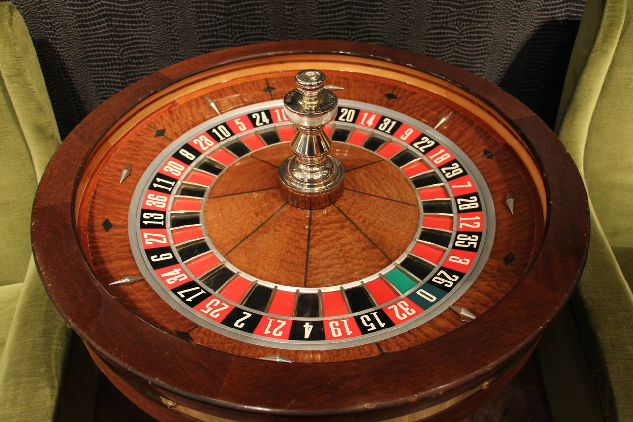 used casino roulette wheel for sale