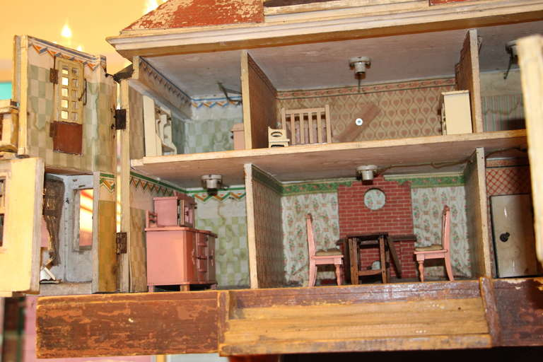 19th Century American Doll House At 1stdibs