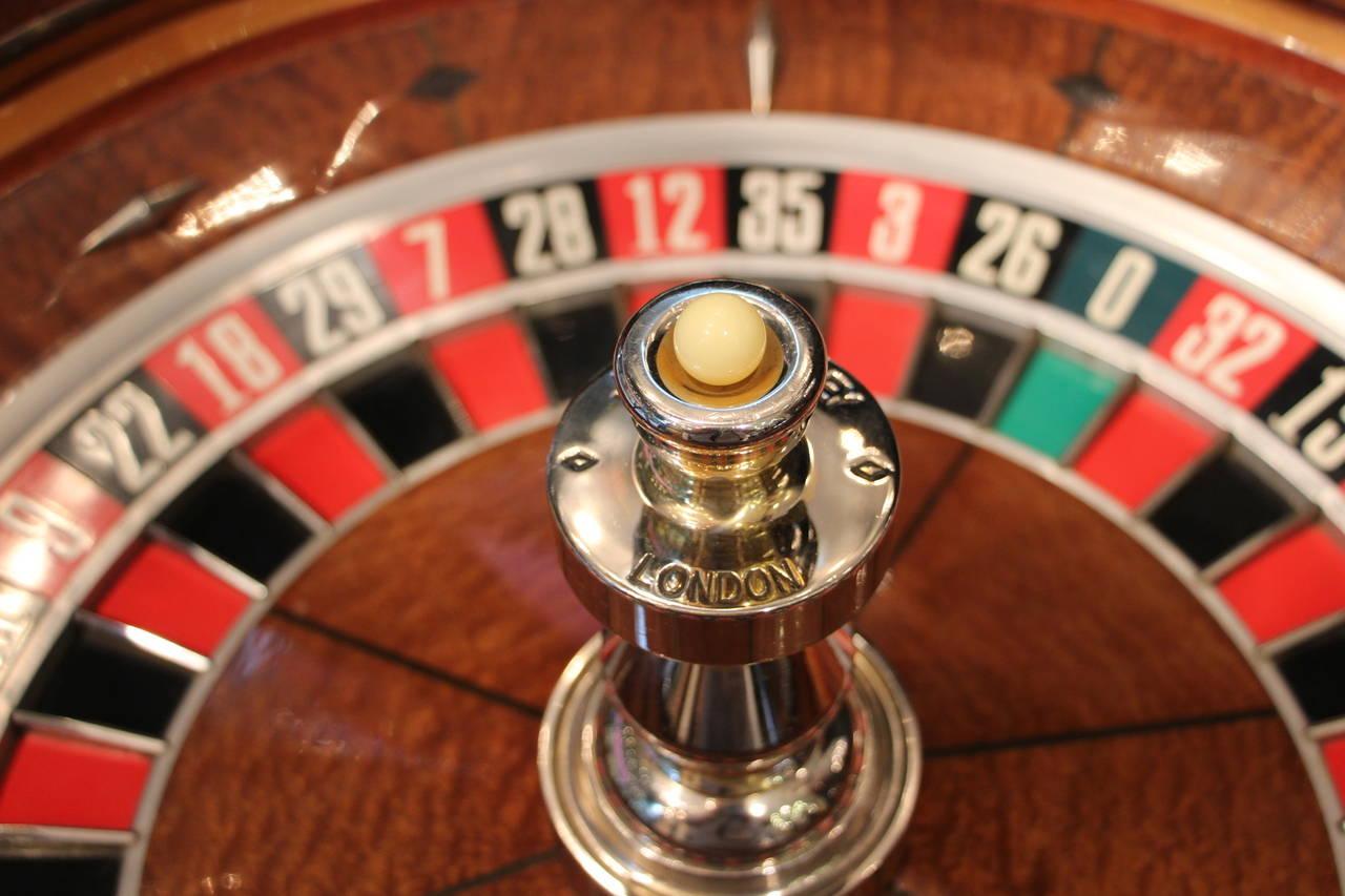 ex casino roulette wheel for sale
